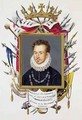 Portrait of Charles IX of France from Memoirs of the Court of Queen Elizabeth - Sarah Countess of Essex