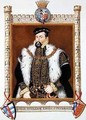 Portrait of William Herbert 1st Earl of Pembroke from Memoirs of the Court of Queen Elizabeth - Sarah Countess of Essex