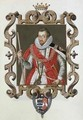 Portrait of Robert Cecil 1st Earl of Salisbury from Memoirs of the Court of Queen Elizabeth - Sarah Countess of Essex