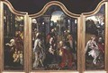 Triptych Adoration of the Magi Nativity and Rest on the Flight into Egypt - Cornelis Engelbrechtsen