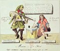 Missions of the 17th Century The Missionary Dragoon forcing a Huguenot to Sign his Conversion to Catholicism - Gottfried or Godefroy Engelmann
