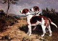 Two Hounds in a Landscape 2 - John Emms