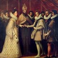 The Marriage of Catherine de Medici and Henri II - (Jacopo Chimenti) Empoli