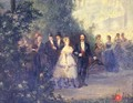 Evening Party at the Tuileries - Pierre Tetar Van Elven