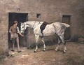 The Dapple Grey and Stable Lad - John Emms