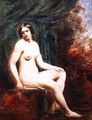 Seated Female Nude - William Etty