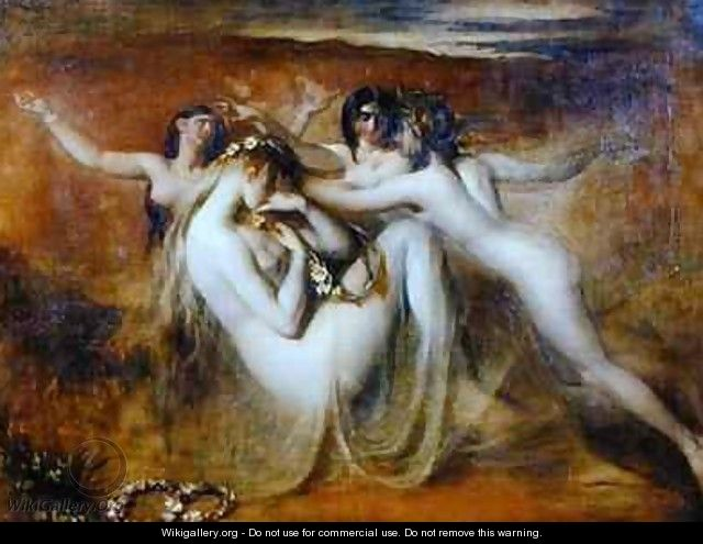Sabrina and her Nymphs - William Etty