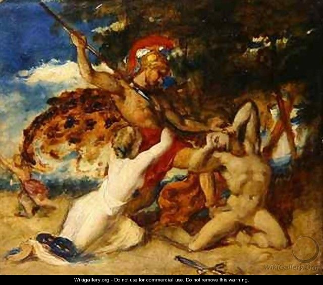 Mercy interceding for the Vanquished - William Etty
