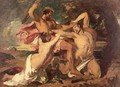 The Combat Woman pleading for the vanquished - William Etty