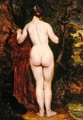 Standing Female Nude by a Stream - William Etty