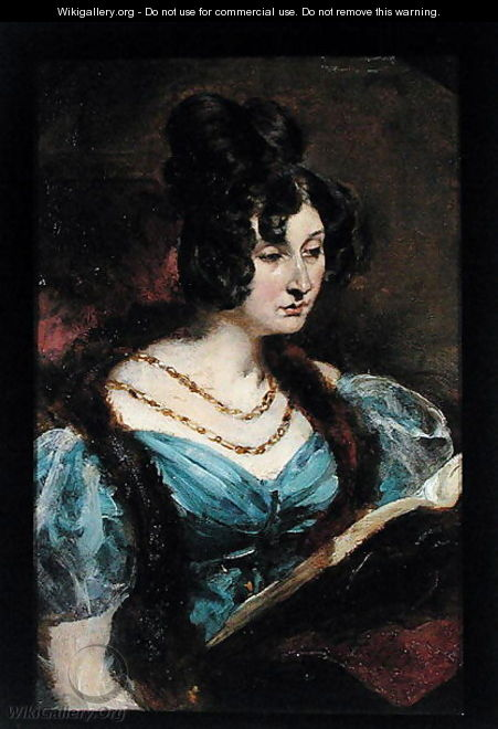 Portrait of a Lady - William Etty