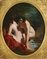 Two Girls Bathing - William Etty