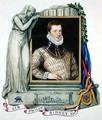 Portrait of Sir Philip Sidney from Memoirs of the Court of Queen Elizabeth - Sarah Countess of Essex