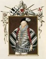 Portrait of Sir Henry Lee from Memoirs of the Court of Queen Elizabeth - Sarah Countess of Essex