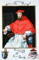 Portrait of Reginald Pole Archbishop of Canterbury and Legate of Viterbo from Memoirs from the Court of Queen Elizabeth - Sarah Countess of Essex