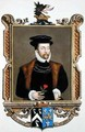 Portrait of Lord Roger North 1530-1600 2nd Baron North from Memoirs of the Court of Queen Elizabeth - Sarah Countess of Essex