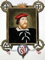 Portrait of Thomas Boleyn Earl of Wiltshire from Memoirs of the Court of Queen Elizabeth - Sarah Countess of Essex
