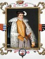 Portrait of Henry Fitzalan 12th Earl of Arundel from Memoirs of the Court of Queen Elizabeth - Sarah Countess of Essex