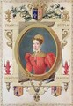 Portrait of Mary Queen of Scots from Memoirs of the Court of Queen Elizabeth - Sarah Countess of Essex