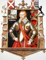 Portrait of Henry 5th Lord Windsor 1562-1615 from Memoirs of the Court of Queen Elizabeth - Sarah Countess of Essex