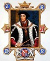 Portrait of Thomas Howard 3rd Duke of Norfolk from Memoirs of the Court of Queen Elizabeth - Sarah Countess of Essex