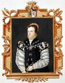 Portrait of Anne Russell Countess of Warwick from Memoirs of the Court of Queen Elizabeth - Sarah Countess of Essex