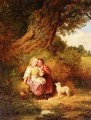 The Pet Lamb - Thomas Faed