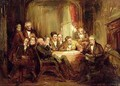Sir Walter Scott and his Literary Friends at Abbotsford - Thomas Faed