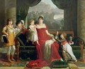 The Duchess of Feltre and her Children - Francois-Xavier Fabre