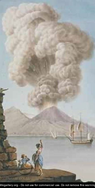 Eruption of Vesuvius - Pietro Fabris