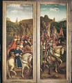 The Just Judges and the Knights of Christ - Hubert & Jan van Eyck