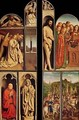 Left panel from the Ghent Altarpiece - Hubert & Jan van Eyck