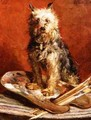 The Artists Dog - Charles van den Eycken