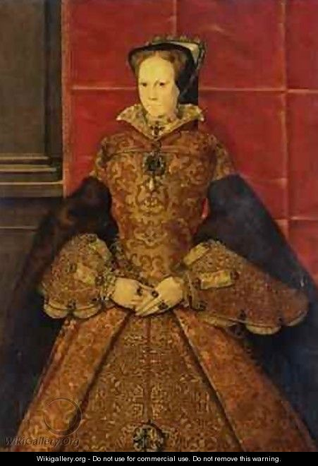 Queen Mary I - Hans Eworth