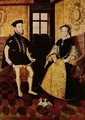 Philip II and Mary I - Hans Eworth