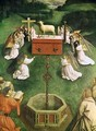 Copy of The Adoration of the Mystic Lamb from the Ghent Altarpiece 4 - (after) Eyck, Hubert & Jan van