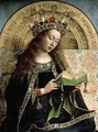 The Ghent Altarpiece The Virgin Mary 2 - Hubert & Jan van Eyck
