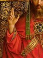 God the Father detail from the central panel of the Ghent Altarpiece - Hubert & Jan van Eyck