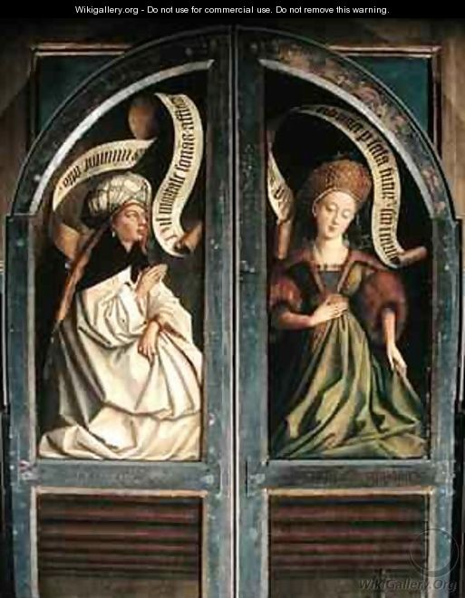 Betere The Ghent Altarpiece The Erythrean Sibyl and the Cumaean Sibyl UO-79