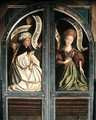The Ghent Altarpiece The Erythrean Sibyl and the Cumaean Sibyl from the exterior of the two shutters - Hubert & Jan van Eyck