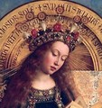 The Ghent Altarpiece The Virgin Mary - Hubert & Jan van Eyck