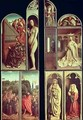 Right Panel interior and exterior of the Ghent Altarpiece - Hubert & Jan van Eyck