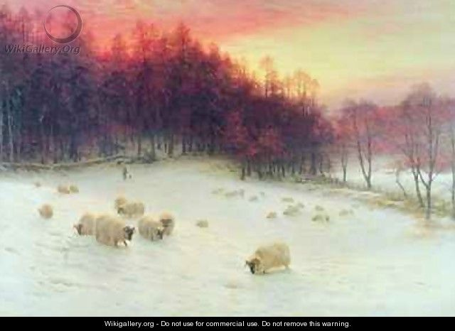 When the West with Evening Glows - Joseph Farquharson