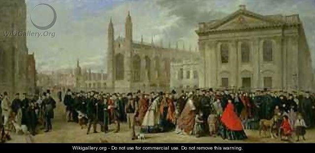 Degree Morning at Cambridge in 1863 - Robert Farren
