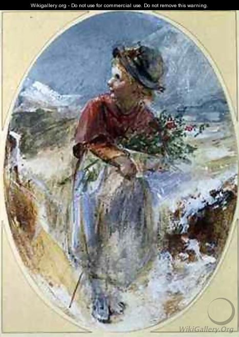 Gathering Winter Flowers - Emily Farmer
