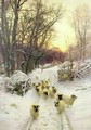 The Sun Had Closed the Winters Day - Joseph Farquharson