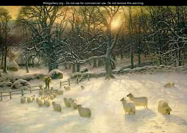 The Shortening Winters Day is Near a Close - Joseph Farquharson