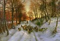 Glowed with Tints of Evening Hours - Joseph Farquharson
