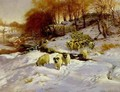 Sheep in Snow - Joseph Farquharson