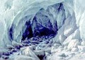 The Ice Cave of the Brenva - Giuseppe Falchetti